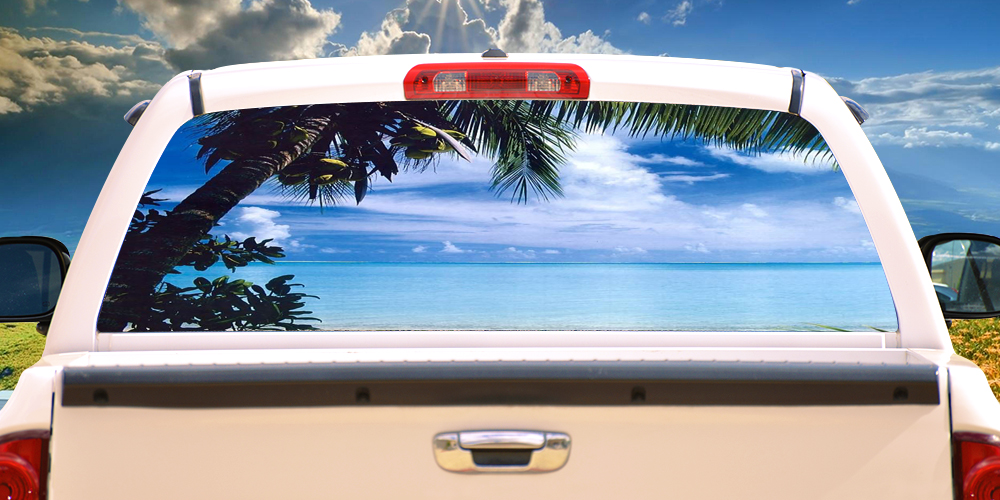 Graphics For Beach Rear Window Graphics Wwwgraphicsbuzzcom - Graphics for car windowsgraphics for see through car window graphics wwwgraphicsbuzzcom