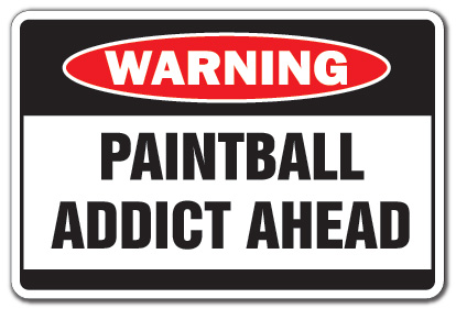 paintball sign - photo #17