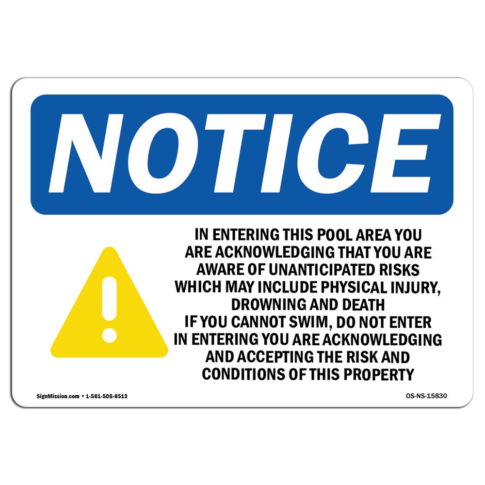 OSHA Notice No Trespassing Or Loitering Sign With SymbolHeavy Duty