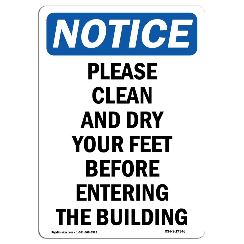 Construction Site Protect Your Business Choose from: Aluminum Not An Entrance Please Use Other Door Rigid Plastic or Vinyl Label Decal OSHA Notice Sign Warehouse /& Shop Area |/ Made in the USA