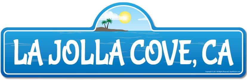 La-Jolla-Cove-CA-California-Beach-Street-Sign-Surfer-Ocean-Lover-Beach-House