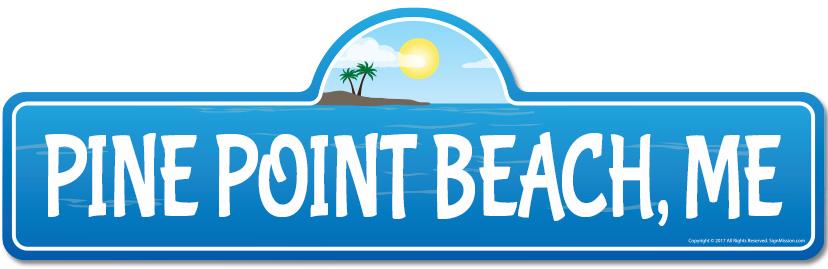 Pine-Point-ME-Maine-Beach-Street-Sign-Surfer-Ocean-Lover-Beach-House